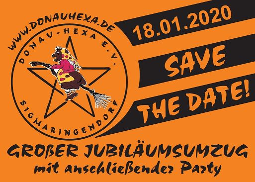 """30 jähriges Jubiläum // SAVE THE DATE"""